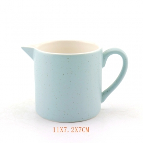 Blue Speckle Ceramic Wine Pitcher